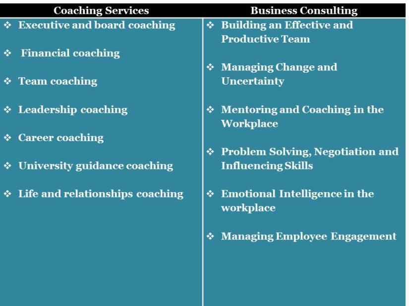 Coachlq services